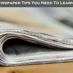 10 Newspaper Tips You Need To Learn Now